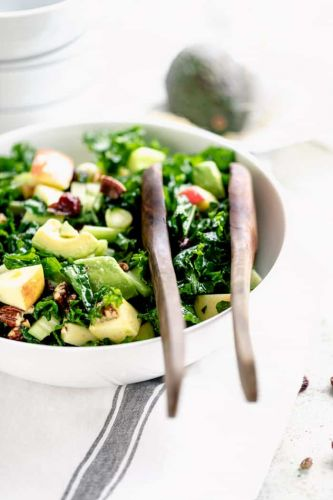 Massaged Kale Salad with Apple