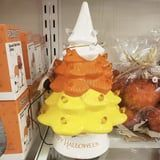 HomeGoods Is Selling a Candy Corn Ceramic Halloween Tree, and Just Look How Cute!