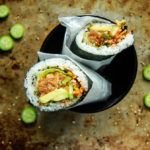 Spicy Salmon Sushirito