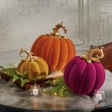 These Velvety Pumpkins Will Make Your Home Feel Luxe This Spooky Season
