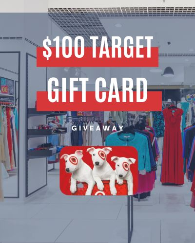 Target $100 Gift Card Giveaway