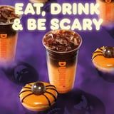 Wow, Dunkin's New Halloween Drink Is an Orange and Black Espresso-Filled Masterpiece