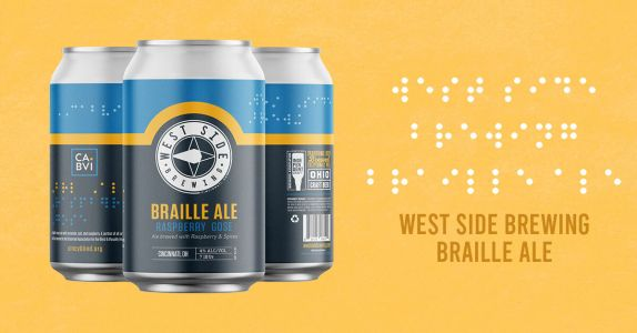 With Braille on Its Label, This Ohio Brewery's New Beer Supports the Visually Impaired