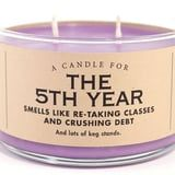 This Fifth-Year Candle Smells Like the Perfect College Victory Lap