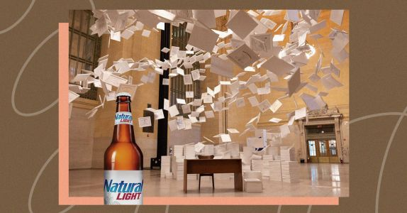 Natty Light Installed the World's Most Expensive Piece of Art in Grand Central Terminal