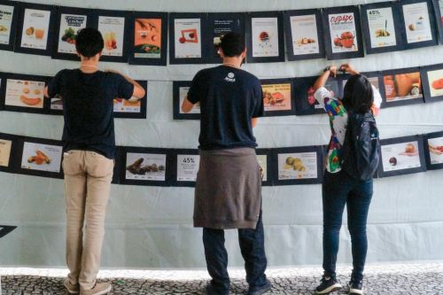 Curitiba students fight food waste creatively with photography exhibition