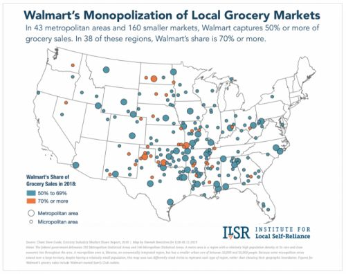 Walmart's Super-Sized Impact on the Food System