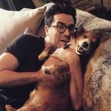 Name a Cuter Duo Than Dan Levy and His Rescue Dog, Redmond - We'll Wait