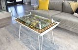 Have You Ever Seen a More Perfect Piece of Furniture Than These Succulent Planter Tables?