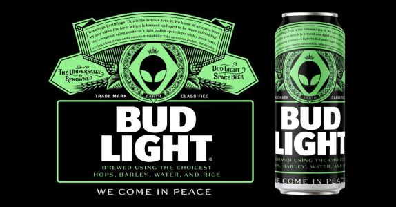 Bud Light Will Make Area 51 Cans If It Gets Enough Retweets