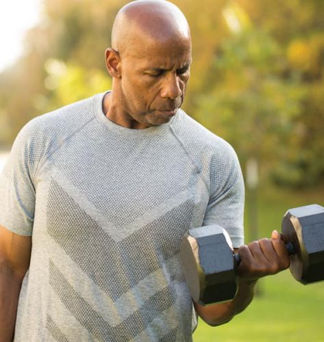 Should you lift weights while losing weight to keep your bones strong?