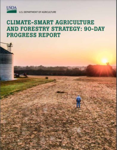 Weekend reading: USDA's action plans for climate change
