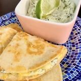 If You Add Anything to Your Tacos, It Needs to Be This 3-Ingredient Cilantro Cream Sauce