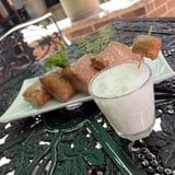 Disney Debuted a Glazed Beignet Cocktail That Comes With an Adorable Pastry Garnish