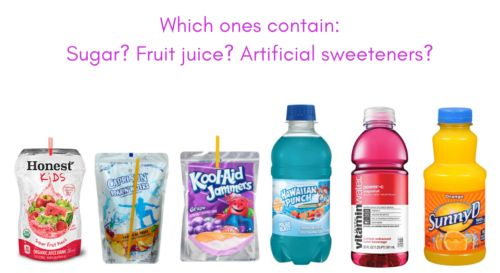 The hidden secrets of juice drinks