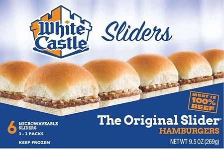 White Castle Recalls assorted Hamburger products for Listeria