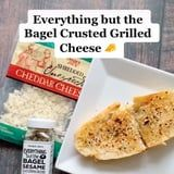 This Everything but the Bagel Grilled Cheese Takes Just Minutes to Make and Looks Gloriously Crispy