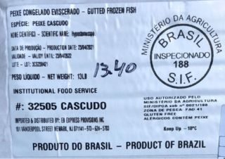 Federal officials warn public about illegally imported catfish from Brazil