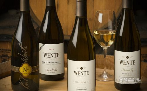 Good drinking at Wente Winery Restaurant