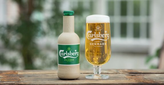 Carlsberg Wants To Sell You Beer in a Paper Bottle