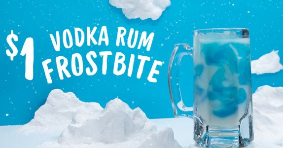 Applebee's New $1 Cocktail Is a Boozy Mix of Rum, Vodka, and Blue Curaçao