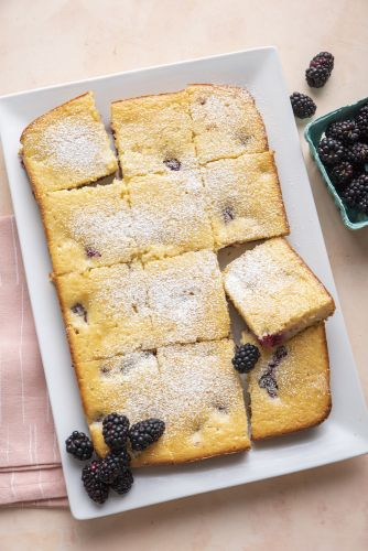 Blackberry Tea Cake