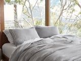 I Finally Tried Linen Sheets, and This Set Has Me Convinced to Never Go Back