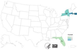 2 sick in New York, 7 sick in Massachusetts and 1 dead in Florida from Listeria tainted Deli Meat