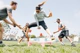 Excuse Us While We Bump, Set, and Spike With Dunkin's New Limited-Edition Spikeball Kit