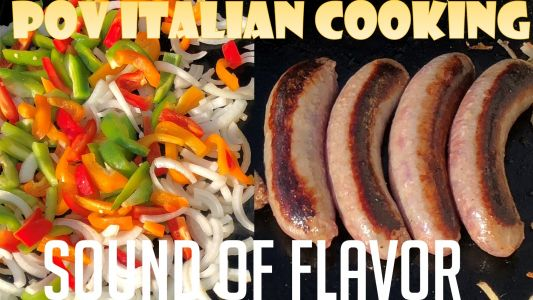 Italian Sausage, Peppers and Onions - Sound of Flavor