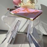 This Dreamy Acrylic Side Table From Amazon Is Trending on TikTok For Its Secret Feature