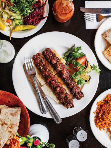 Turkish Ground Lamb Kebabs