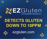 EZGluten Testing Kit- the easy way to detect gluten in food - fast & simple for when you need it