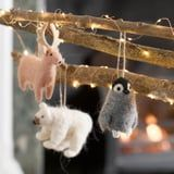 These Pretty Felt Christmas Ornaments Will Cozy Up Your Tree
