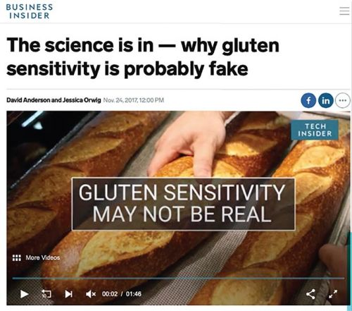 What is gluten sensitivity?