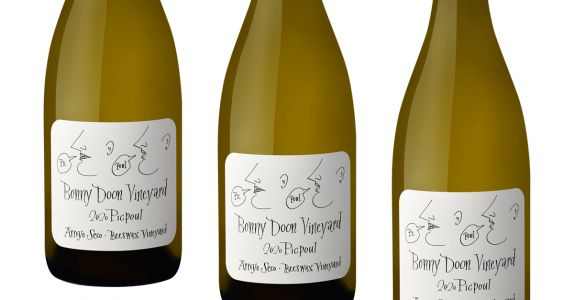 Bonny Doon Vineyard Picpoul 'Beeswax Vineyard' 2020, Arroyo Seco, Calif