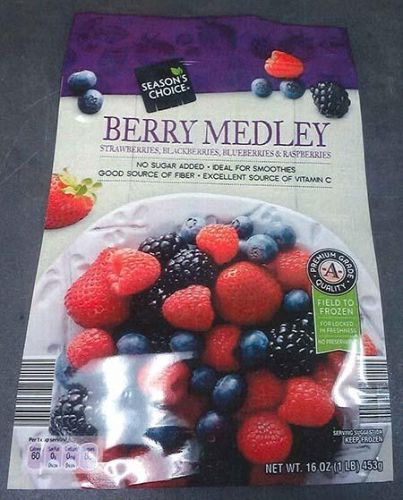 Frozen Raspberries and Frozen Berry Mixes Recalled for Hepatitis A