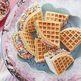 Why Have Regular Ice Cream Sandwiches When You Can Have Waffle Ice Cream Sandwiches?!
