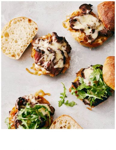 French Onion Steak Sandwiches Recipe Tested and Giveaway!