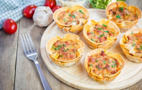 Individual Lasagna Cups {Toddler Approved}