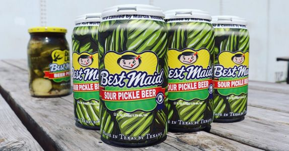 Texas Gose Mad for Sour Pickle Beer