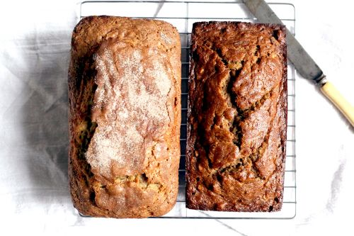 The Perfect Comfort Food: Whole Wheat Banana Bread