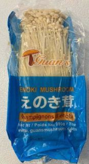 Nationwide recall of Guan's Enoki Mushrooms because of potential Listeria