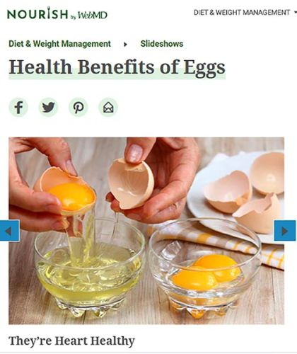 Are eggs good for your heart?