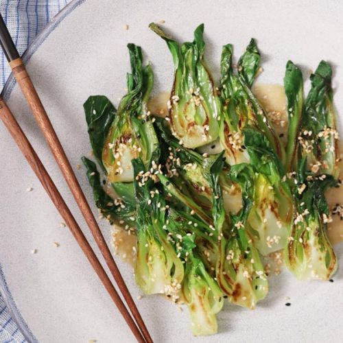 How to stir-fry Asian greens