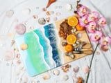 Um, We Can't Get Over How Beautiful This Beachy Cheese Board Is