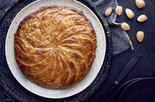 Almond Galette: A final salute to the holidays