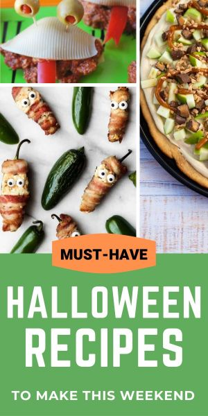 Tasty Halloween recipes for your spooky shindig this weekend