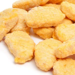 These raw breaded chicken products seem to be a problem